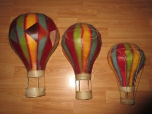 Tin Hot Air Balloon decorations for room