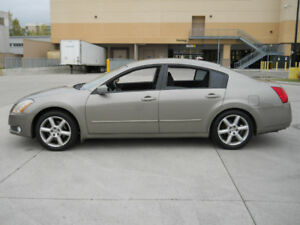2004 Nissan Maxima, Automatic, Only 163000km, 3/Y warranty avail