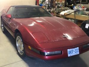 1995 Corvette LT1  C4  350ci 300Hp  $8500