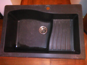 swanstone sink and grohe faucet