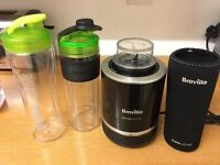 Blend active blender in black, with accessories