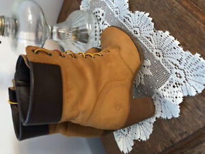 Used timberland High heel boots