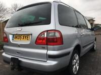 FORD GALAXY 1.9 TURBO DIESEL (2005 05) 130 BHP GHIA 7 SEATER