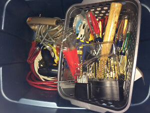 Box of misc tools
