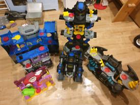 Imaginext Batman sets and figures job lot