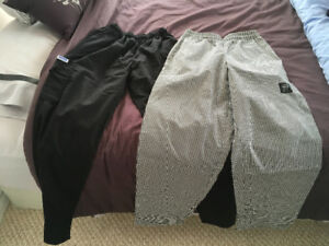 Chefs Pants (med & small)
