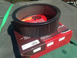 k&n air filter 14 inch