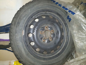 Sailun winter tires used 16 inch