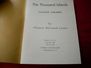 1956 Thousand Islands book   Must Have Peterborough Peterborough Area image 2