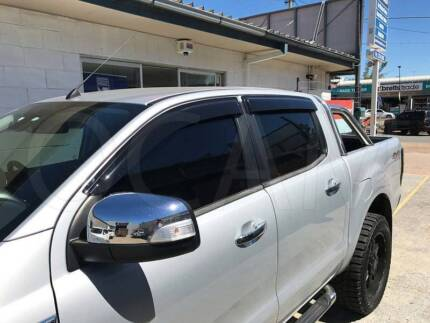 Ford Ranger PX/PX2 weather shields visors - dual cab