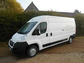 2011 61 CITROEN RELAY 2.2HDI 120BHP LWB 6 SPEED 92000 MILES NO VAT TO PAY