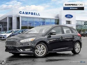 2016 Ford Focus Titanium LEATHER-POWER ROOF-NAV-LOADED