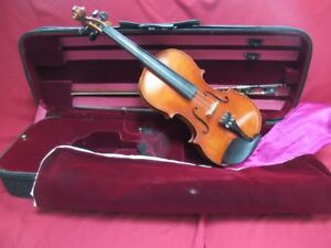 Paesold 4/4 Violin, Bow and  Deluxe Case.