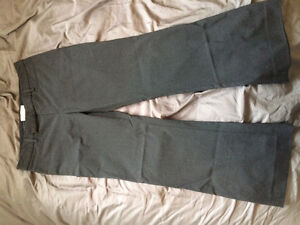 Gap Heathered Black Pants