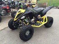 Yamaha raptor 2016 stealth edition 700cc, BEAST , 1 owner bought new 4 months ago for 11k £8600