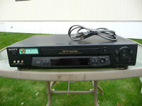VCR, VHS tape player