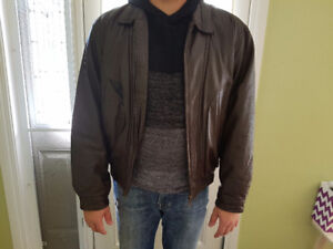 Real leather Jacket size M-L