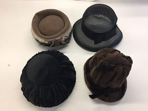 24 Vintage Hats (30/40/50s) - Good Condition - $300