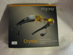 Myvu Crystal Personal Media Viewer - Monitor Glasses