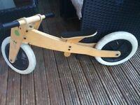 Wishbone wooden bike&trike