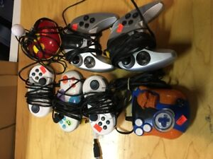 7 DIFFERENT GAME CONTROLLERS THAT PLUG INTO TV