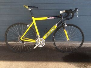 Giant ocr three road bike size large