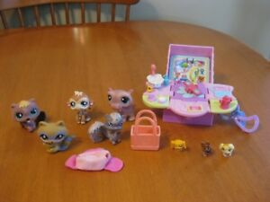 LITTLEST PET SHOP MINI PET PLAYSET PLUS 5 OTHER PETS