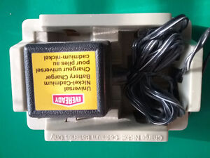 Eveready Universal Nickel-Cadmium battery charger