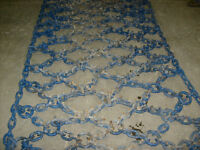 30.5X32 TRIPLE DIAMOND NET LINK TIRE CHAINS