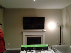 Installation of LED LCD TV bracket is $ 49.99 tv wall mount ing Stratford Kitchener Area image 2