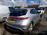 HONDA CIVIC 2007 PETROL TYPE S BREAKING FOR SPARES PLEASE CALL BEFORE YOU COME