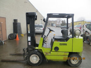 REDUCED TO SELL CERTIFIED 5000 LB CAPACITY CLARK FORKLIFT