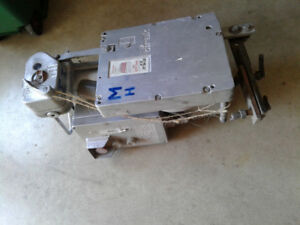 Motors for window cleaners platform for commerical