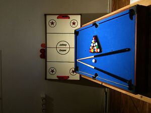 Table billiard & air hockey, HP printers