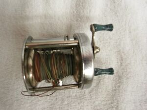 antique great lakes fish reel
