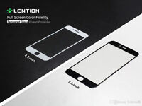iPhone 6,6plus , 5/5s Tempered Glass BLACK OR WHITE OR GOLD