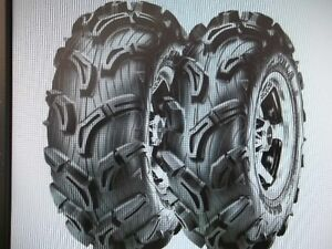 LOWEST PRICE IN CANADA ON ZILLA ATV TIRES  !! PERIOD !!!