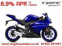 YAMAHA YZF-R125 ABS, 2018 MODEL 125cc LEARNER LEGAL RACE REPLICA SPORTS BIKE...