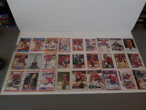 LOT DE 63 CARTES DE HOCKEY DE PATRICK ROY 1989 A 2014