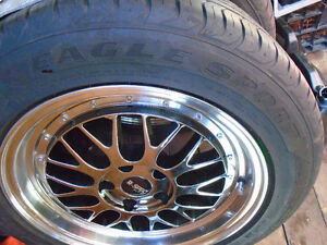 4 goodyear  eagle sport tires