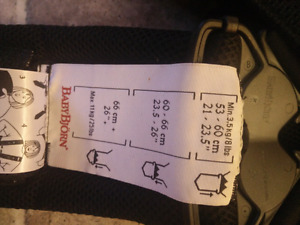 Babybjorn carrier 40$ gently used