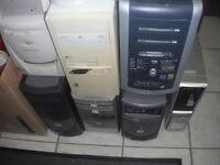 Computers and Boxes for parts only