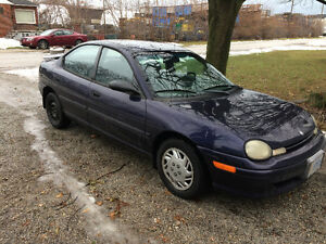 1998 Dodge Neon Highline Sedan
