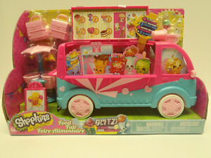 BNIB Shopkins Food Fair Glitzi Ice Cream Truck