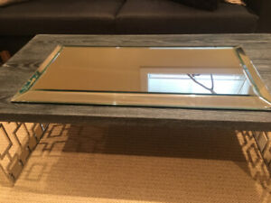 Pottery Barn Decorative Table Mirror
