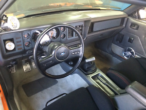 Ford Mustang 1986 GT Supercharged ( fox )