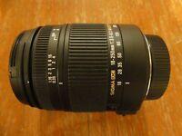 Sigma 18-250mm f3.5-6.3 DC Macro OS for Nikon DSLR