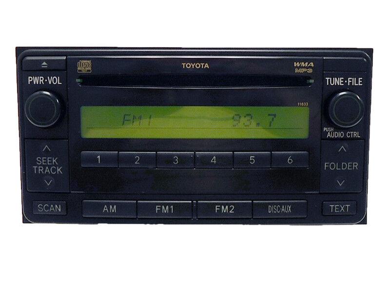 07 08 Toyota Yaris Celica Echo Mr2 Radio Stereo Mp3 Cd Player 11833 Rhebay: Toyota Mr2 Radio At Gmaili.net
