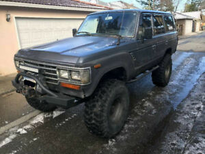 "1988 Toyota Land Cruiser FJ62 37"" Tires"