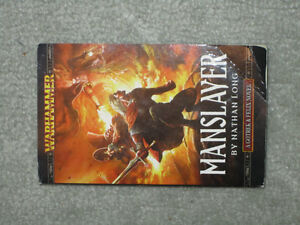 WarHammer: Gotrek and Felix: Manslayer by Nathan Long (novel) Kingston Kingston Area image 1